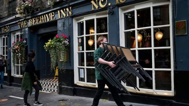 İskoçya'da kapatılan bir pub