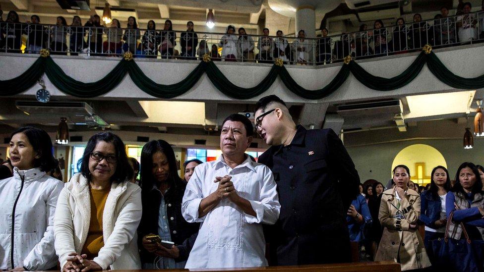 二人一同在香港的聖若瑟堂參加星期日彌撒