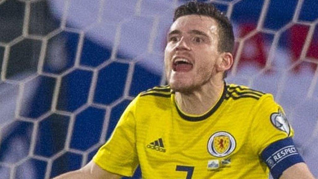 Scotland at 'rock bottom,' says captain Andy Robertson