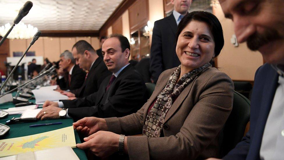 Asya Abdullah,líder del PYD