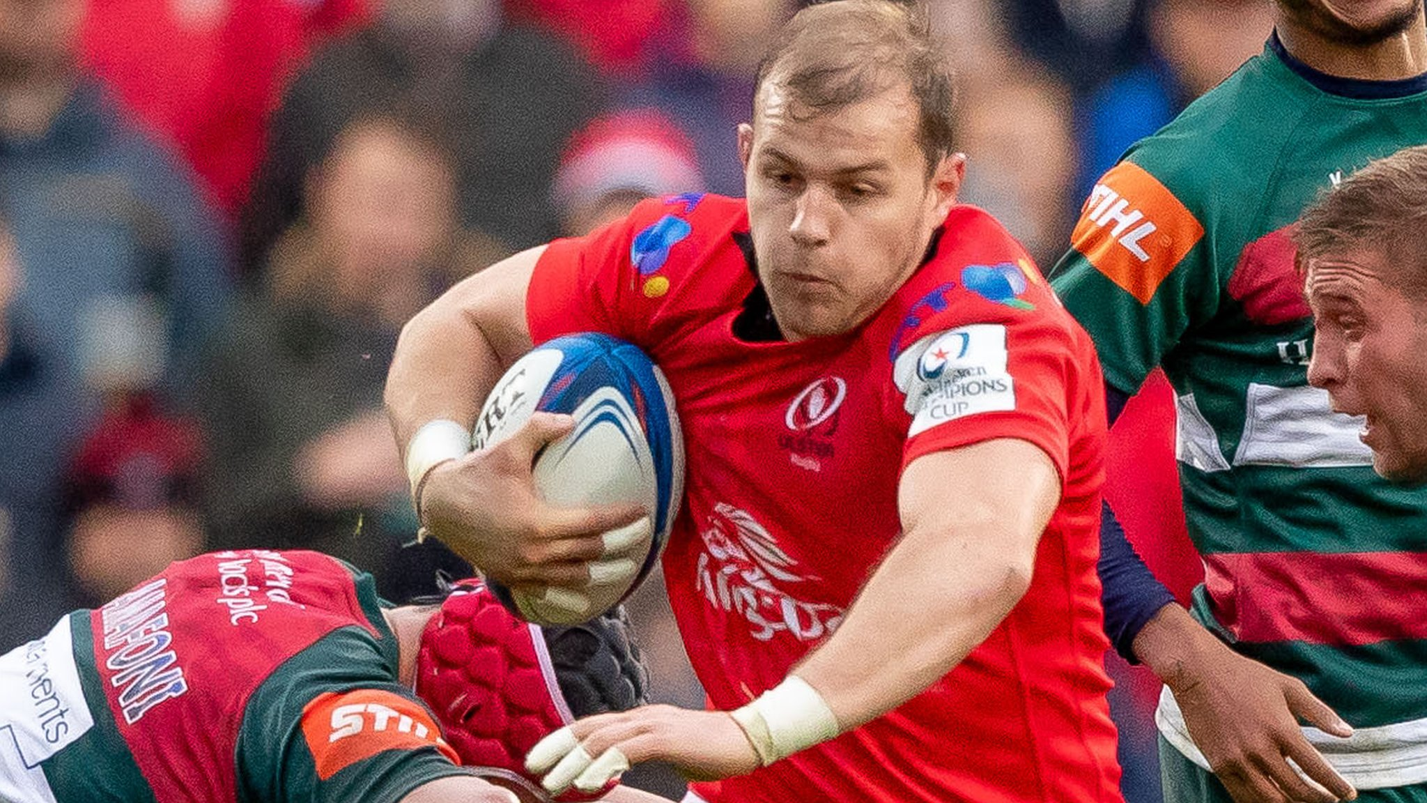 European Rugby Champions Cup: Ulster beat Leicester Tigers 24-10