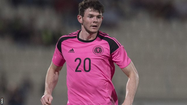 Oliver Burke could win his third Scotland cap against France.