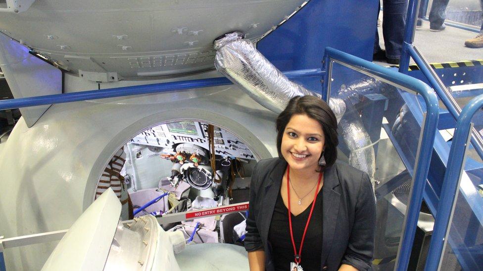 La Dra Varsha Jain en la NASA