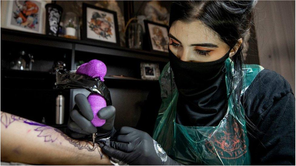 Tattoo artist in Northern Ireland