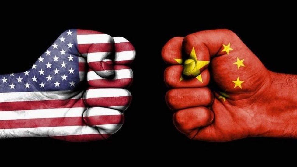 中國、美國