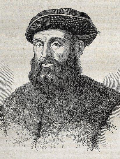 Retrato de Fernando Magallanes.