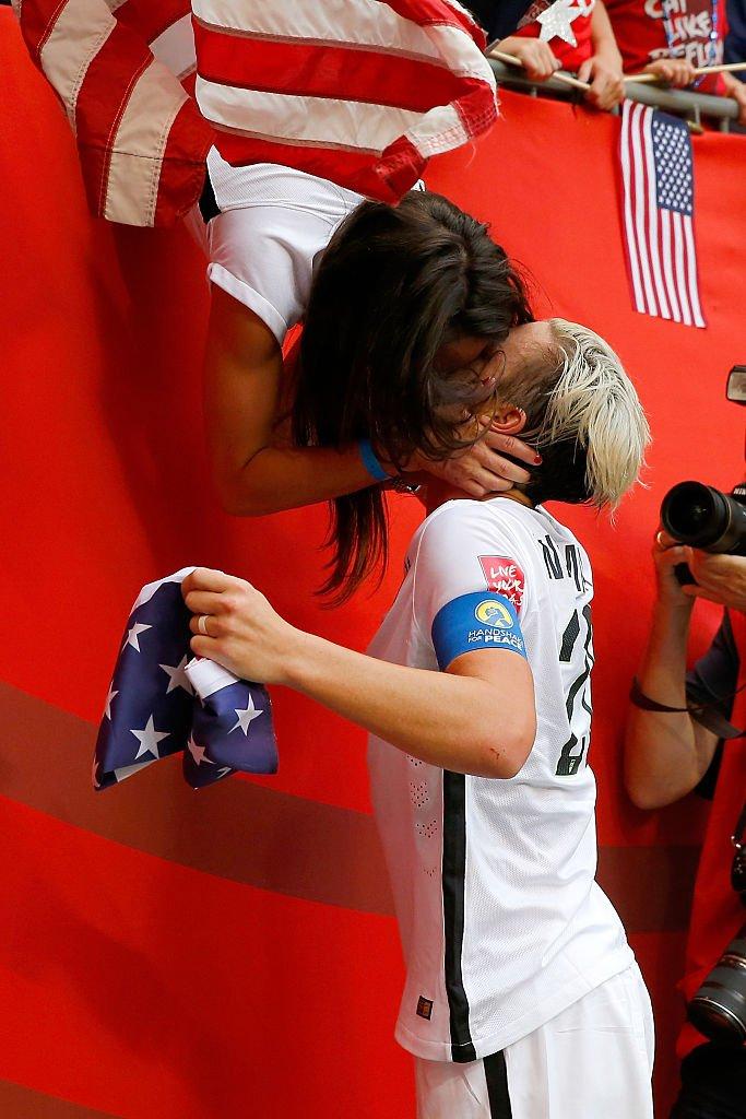 Wambach's kiss