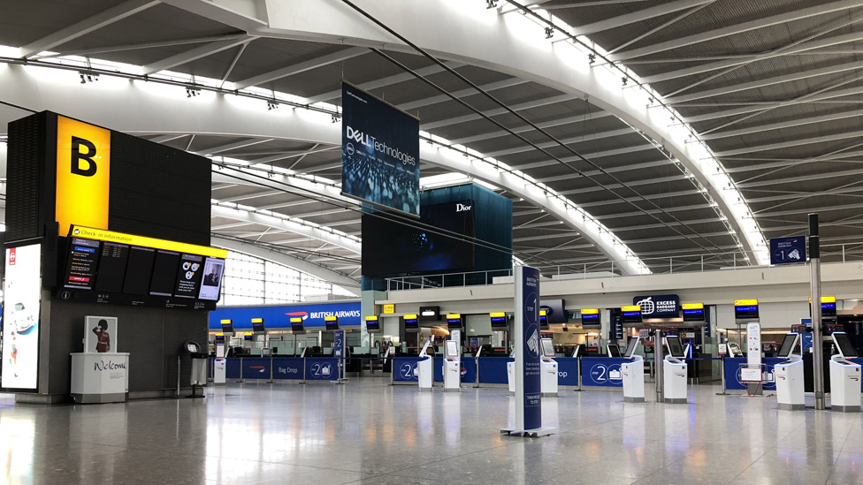 Heathrow Terminal 5 in 2019