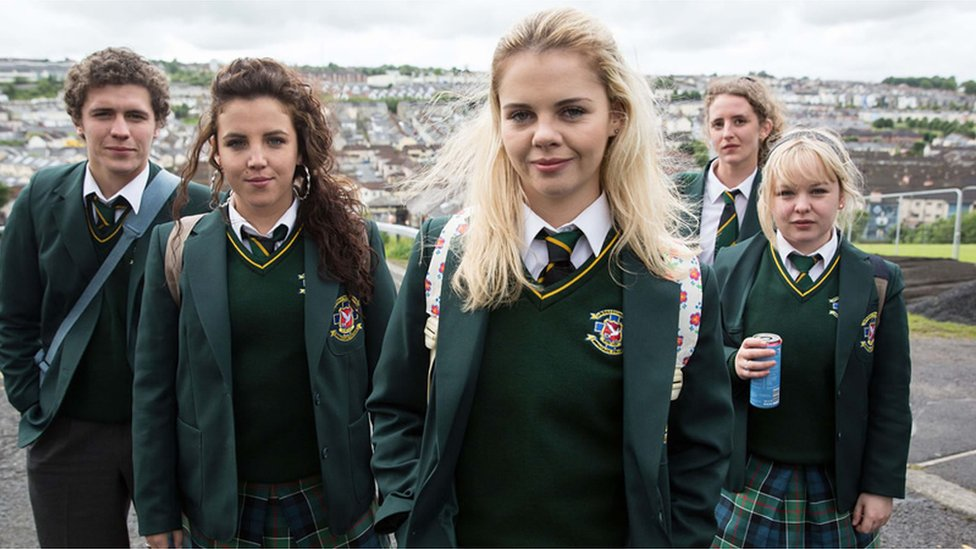Derry Girls filming to proceed despite objections over road closure