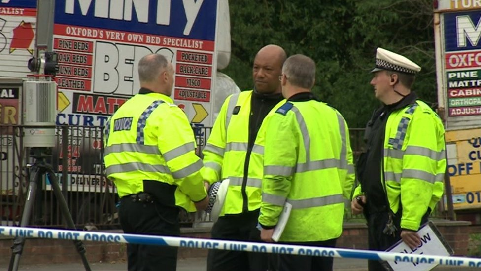 Police at scene of fatal Botley collision