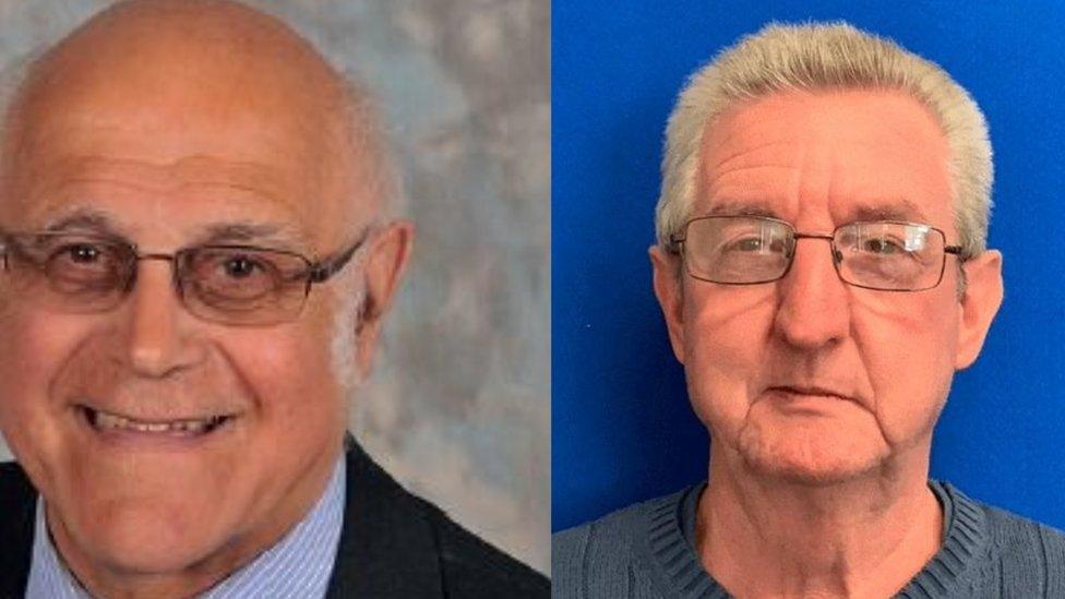 David Rudd (left), Peter Hemmerman (right)