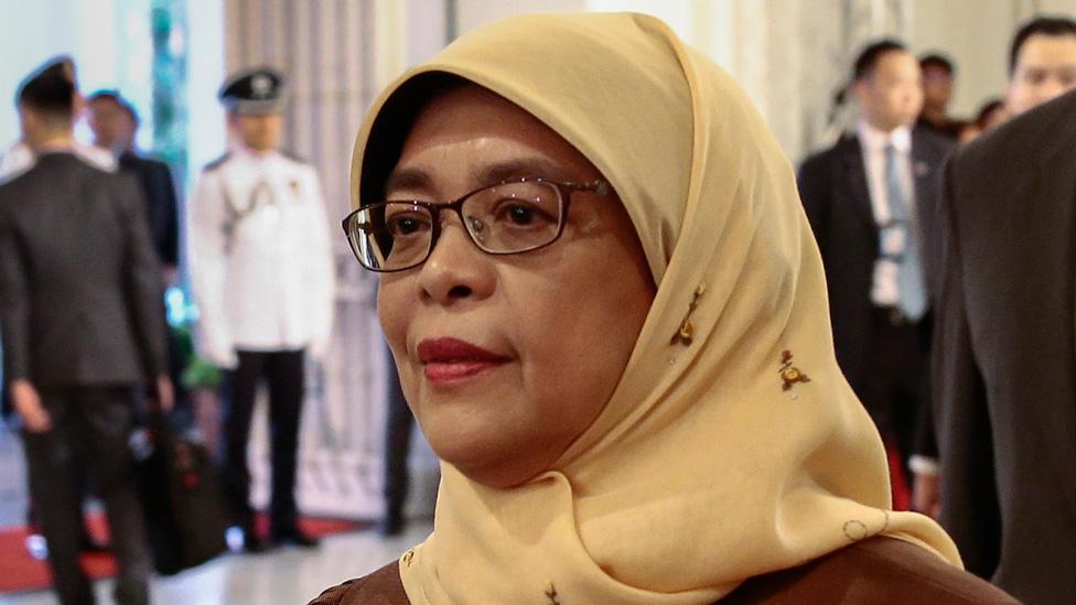 Singapore's President Halimah Yacob