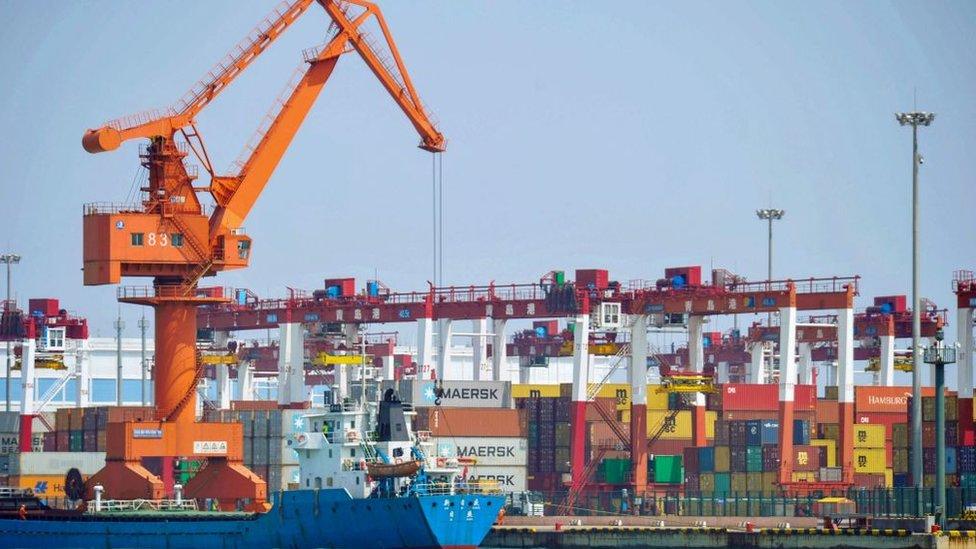 Exportaciones chinas.