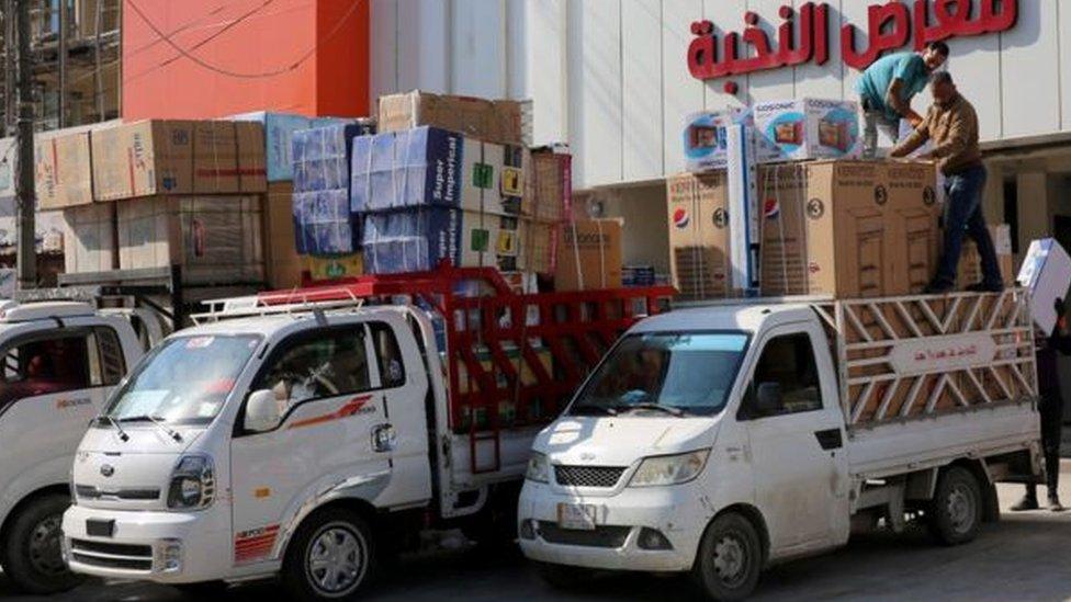 الاقتصاد الإيراني العراقي
