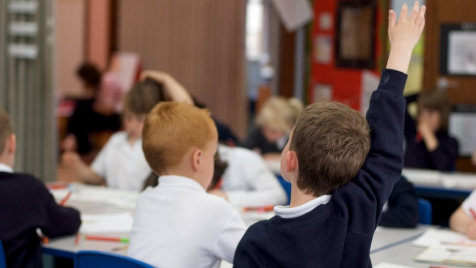 children in classroom (generic)