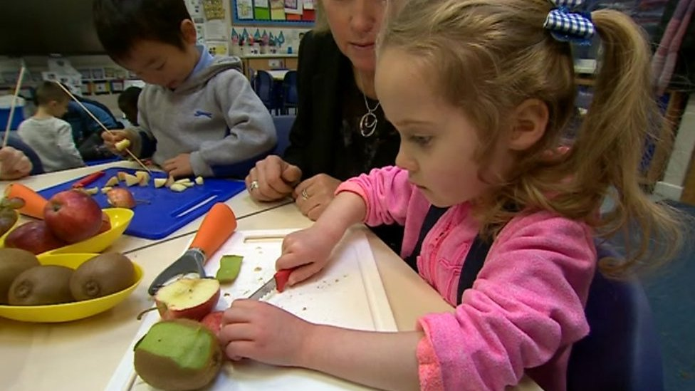 83491bda8d781 The Telford five-year-olds using knives in class. BBC News - 00 30 AM GMT  November 24