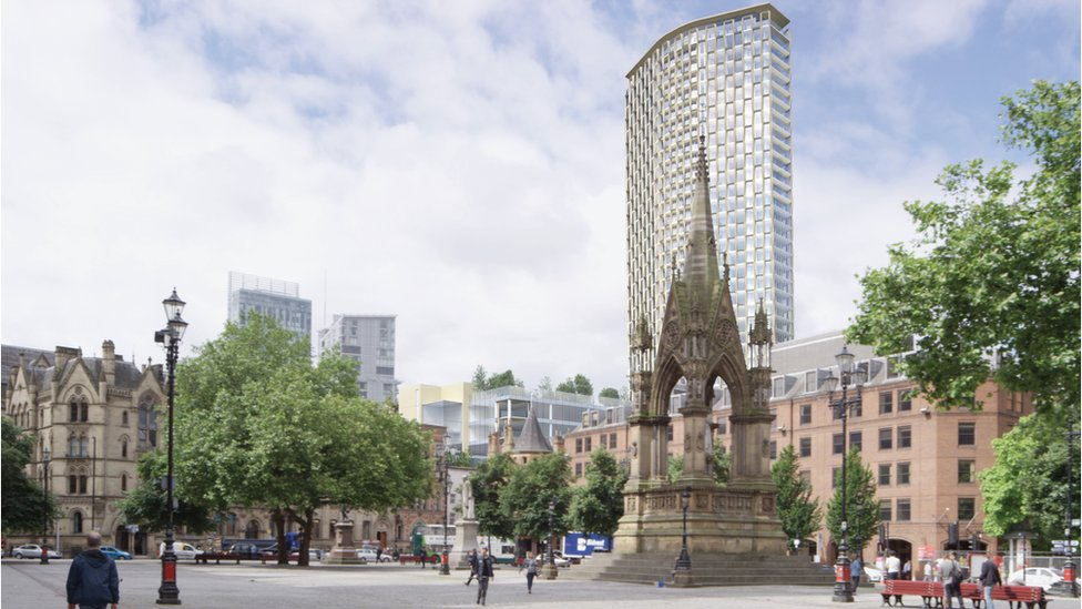 The St Michael's scheme in Manchester was given the go-ahead despite criticism