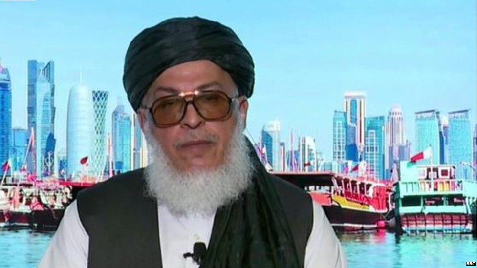 तालिबान के मुख्य वार्ताकार शेर मोहम्मद अब्बास