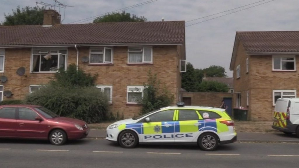 Men bailed after woman dies in Crawley flat fire