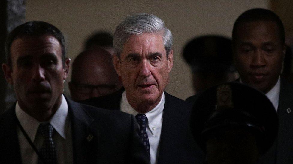El exdirector del FBI Robert Mueller está a cargo de la comisión que investiga la supuesta trama rusa.