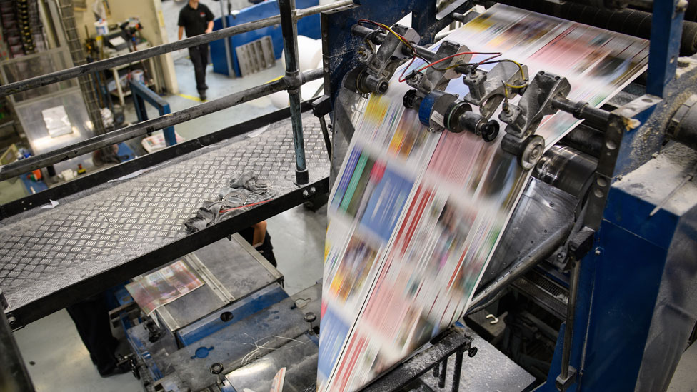 Barnsley Chronicle print run