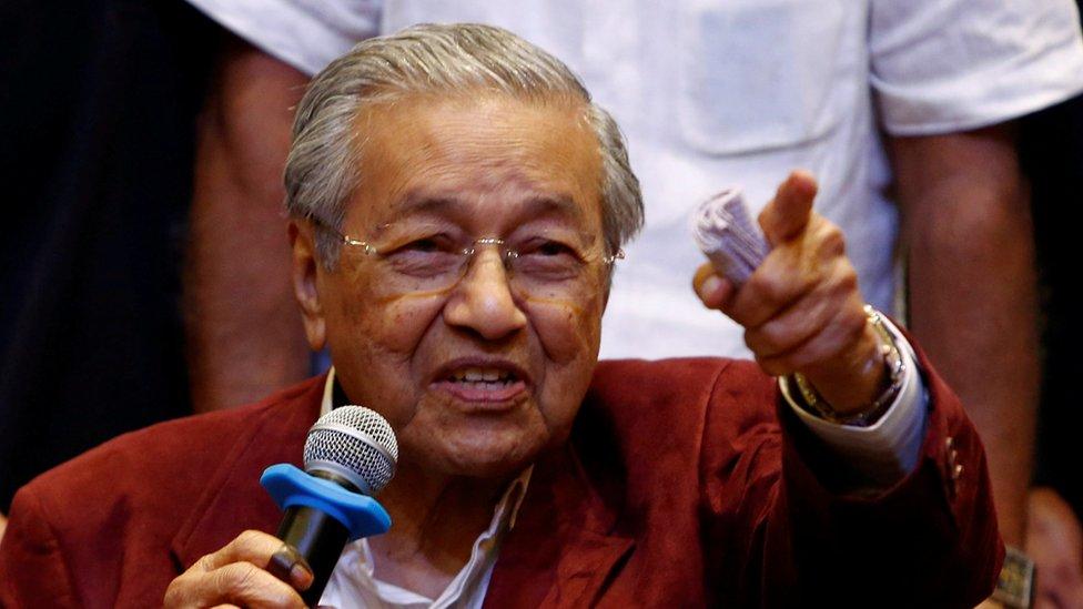 Mahathir volverá a ser primer ministro de Malasia con 92 años después de haber dejado el puesto en 2003.
