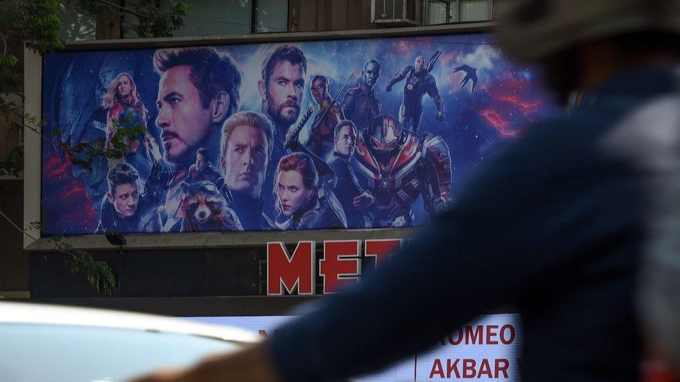 Poster Osvetnika u Mumbaju
