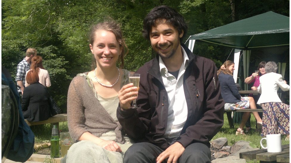 Sophie Williams and Robert Annewandter