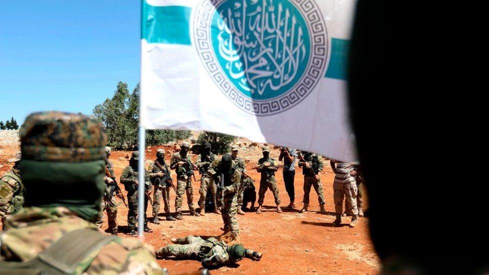 هيئة تحرير الشام ( جبهة النصرة سابقا) تسيطر على إدلب منذ عام 2015