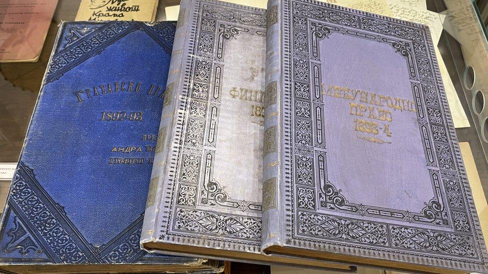 Udžbenici iz građanskog i međunarodnog prava i finansija