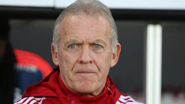 Swansea caretaker boss Alan Curtis