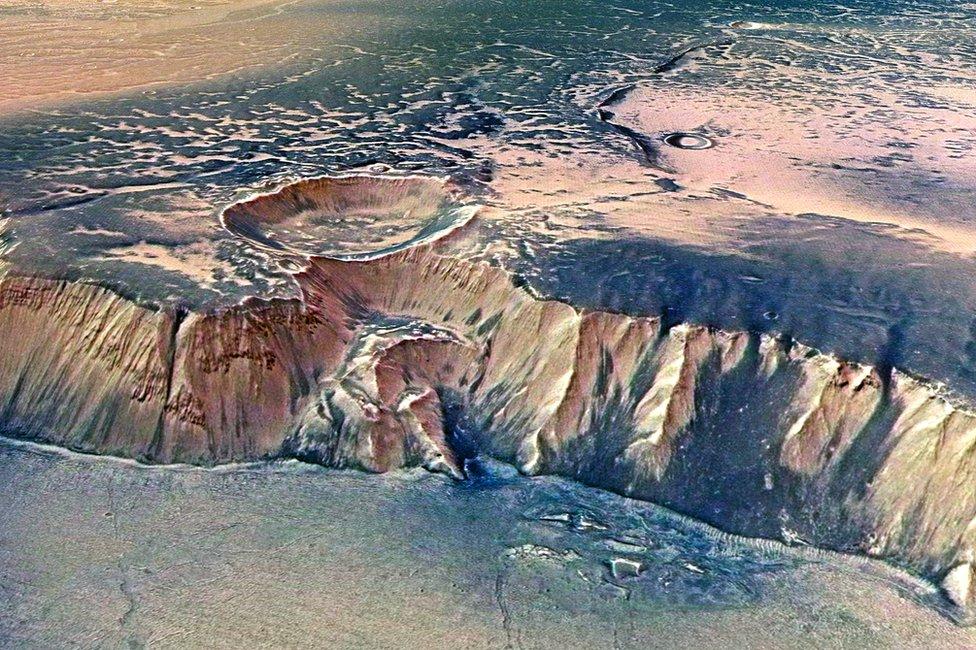 Imagen de la superficie de marte