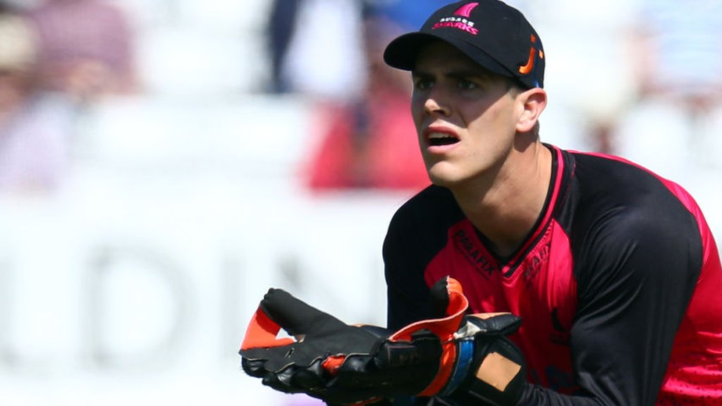Michael Burgess: Warwickshire sign Sussex wicketkeeper-batsman on two-year deal