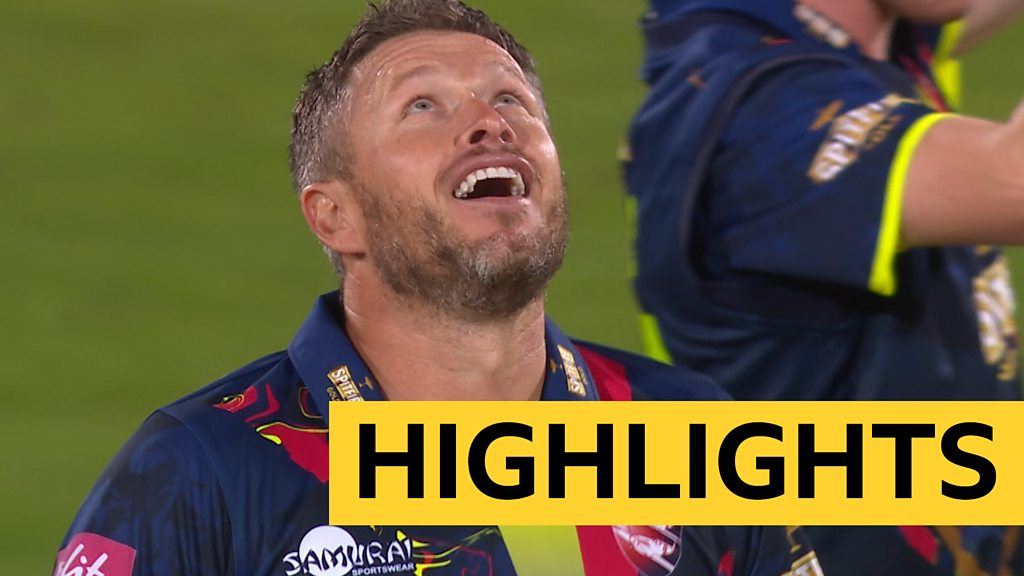 T20 Blast: Somerset come close to victory in thrilling comeback against Kent Spitfires