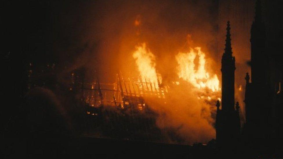 York Minster support after Notre-Dame blaze