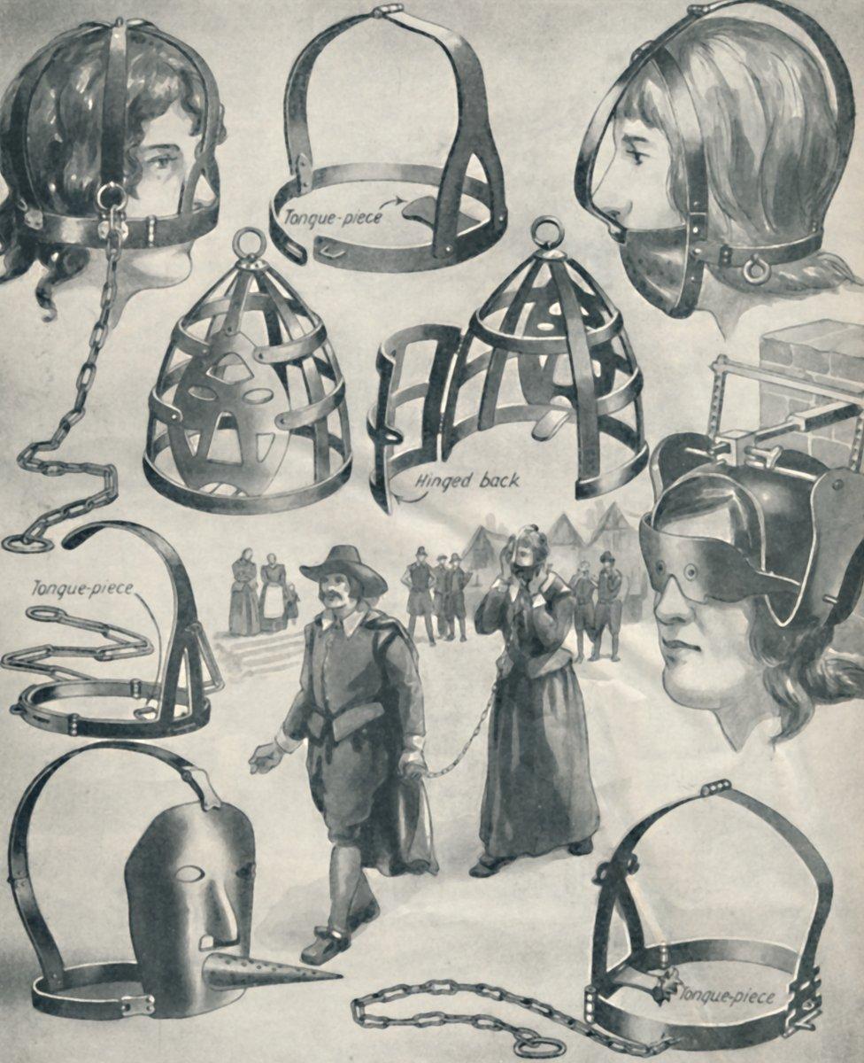 Branks torture devices