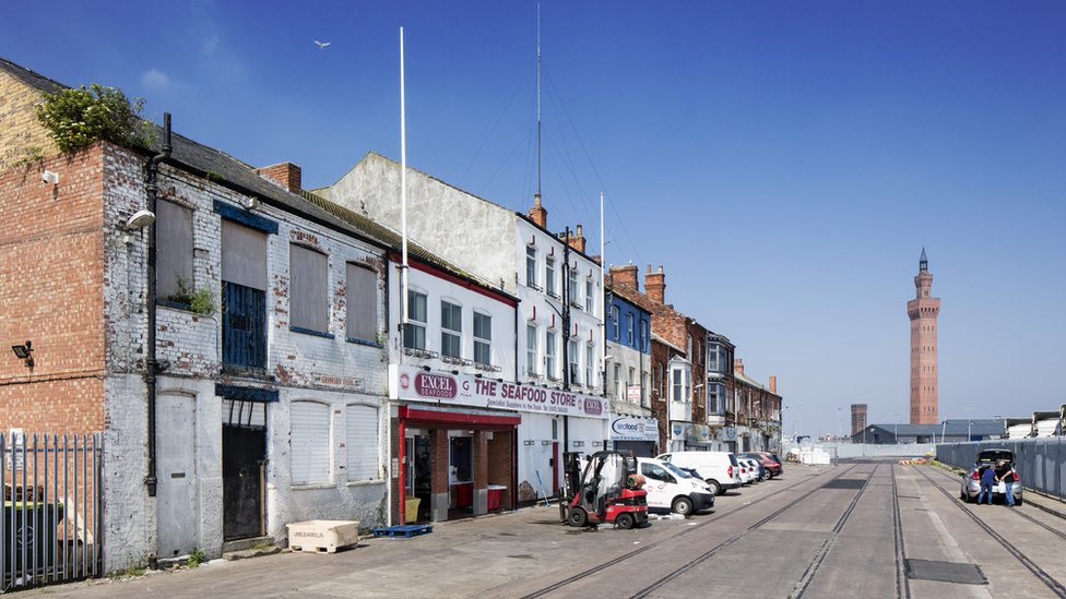 The Kasbah Conservation Area in Grimsby
