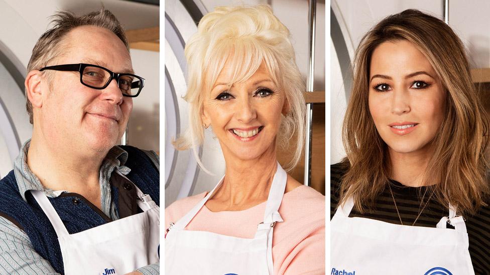BBC News - Celebrity Masterchef 2017 serves up Rachel Stevens and Debbie McGee