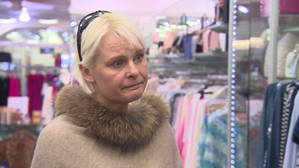 Store owner Sarah Williams