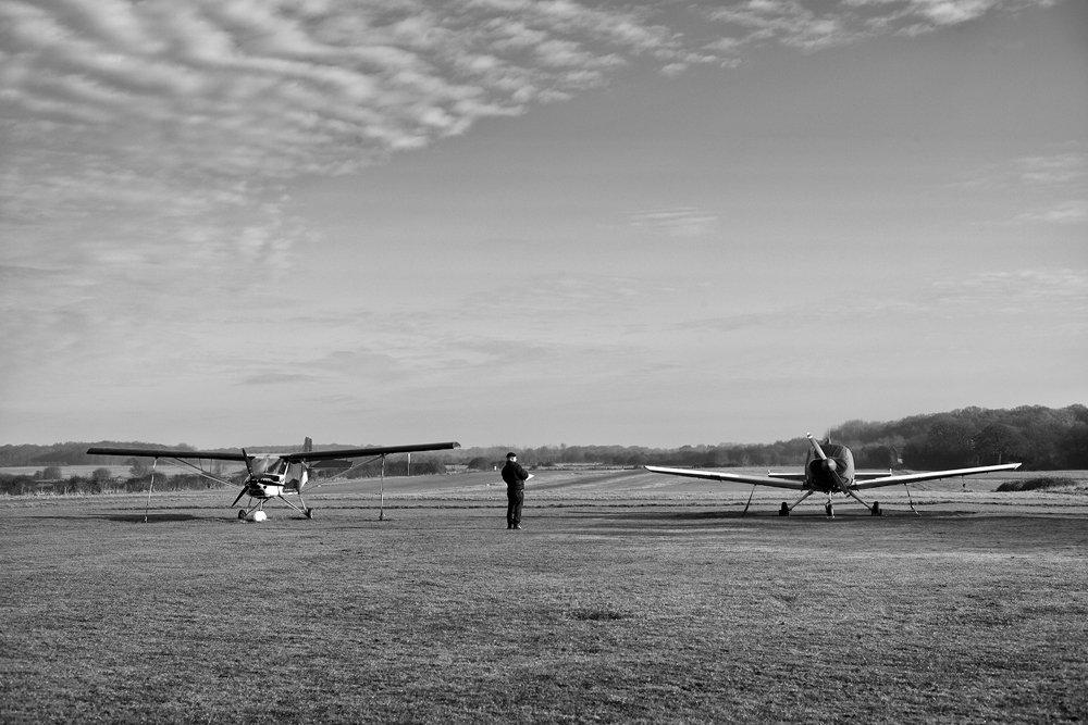 Reconnaissance: Deanland Airfield
