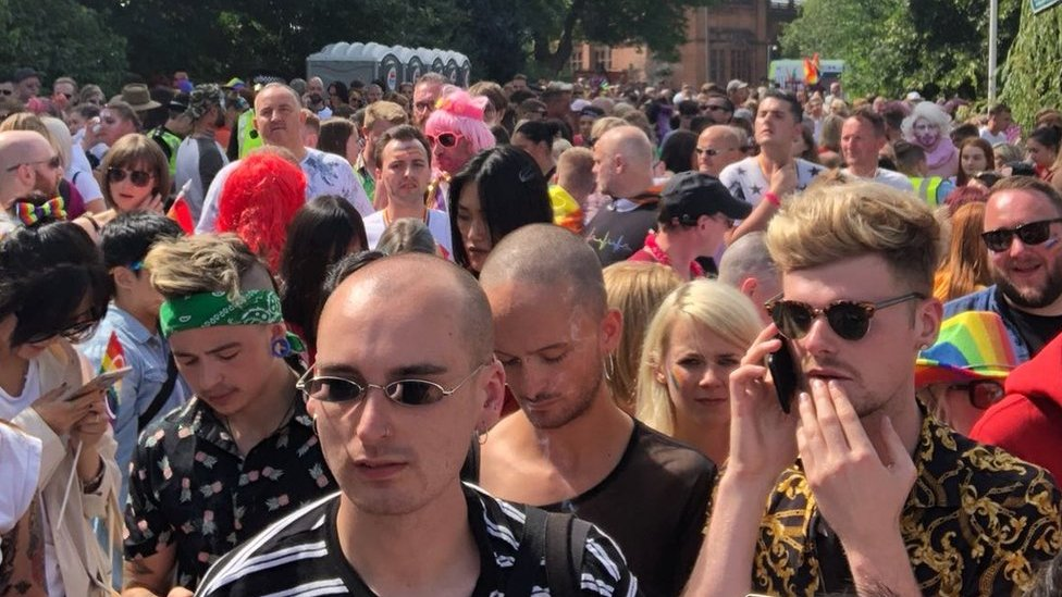 Pride organisers apologise over ticket chaos