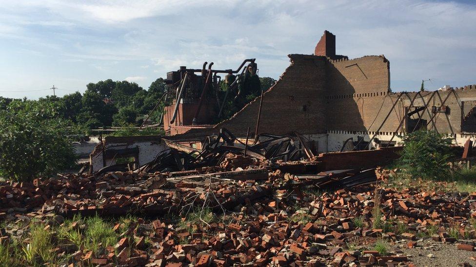 Factory Wreckage