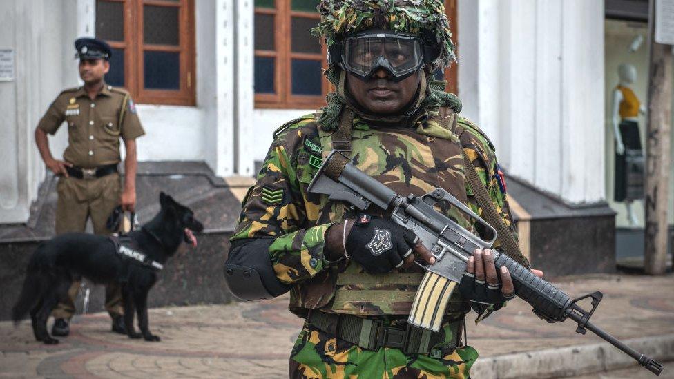 На Шрі-Ланці знову вибухи і перестрілка
