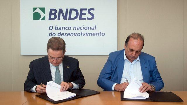 Luiz Fernando Pezão e Paulo Rabello de Castro