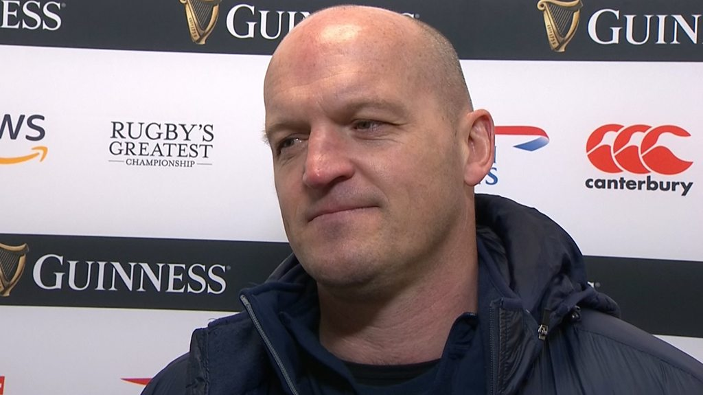 Six Nations: Gregor Townsend reflects on 'incredible' Scotland turnaround
