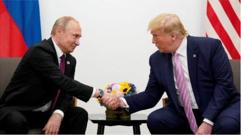 يدعو ترامب إلى إعادة روسيا إلى مجموعة السبع