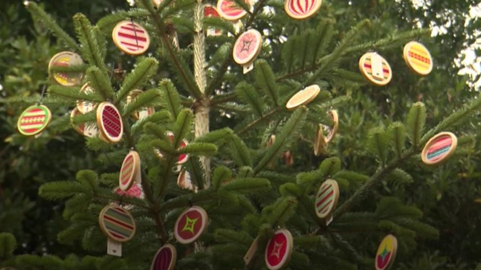 Christmas stitched up at Sussex stately home