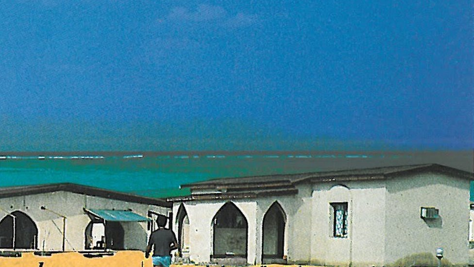 Picture of Arous resort from brochure