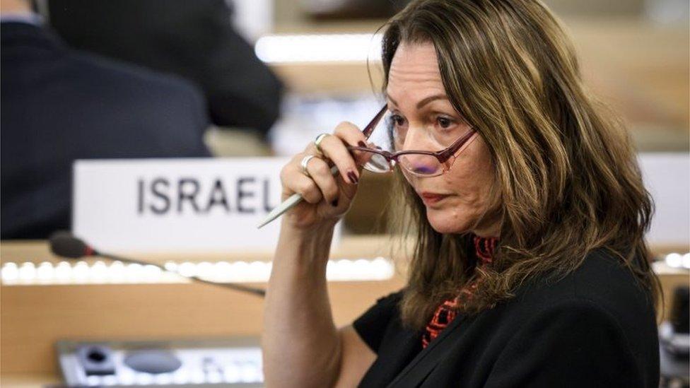 Aviva Raz Shechter, embajadora de Israel ante Naciones Unidas.