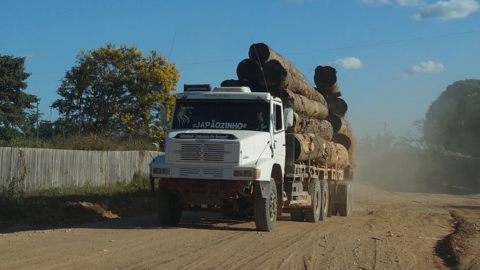 Logging truck (July 2015)